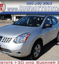 nissan rogue 2010 silver suv s awd gasoline 4 cylinders automatic 75228