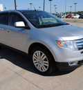 ford edge 2009 silver suv limited gasoline 6 cylinders front wheel drive automatic 75228