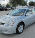 nissan altima 2012 silver sedan s gasoline 4 cylinders front wheel drive automatic 33884