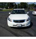 honda accord 2008 white sedan ex gasoline 4 cylinders front wheel drive 5 speed automatic 07724