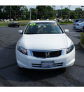 honda accord 2008 white sedan ex gasoline 4 cylinders front wheel drive 5 speed automatic 07724