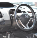 honda civic 2007 dk  gray coupe si gasoline 4 cylinders front wheel drive 6 speed manual 77388