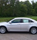 chrysler 200 2011 silver sedan touring gasoline 4 cylinders front wheel drive not specified 44024