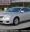toyota camry 2011 silver sedan le gasoline 4 cylinders front wheel drive automatic 77388