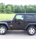 jeep wrangler 2012 black suv sport gasoline 6 cylinders 4 wheel drive not specified 44024