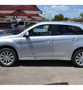 mitsubishi outlander sport 2011 silver se gasoline 4 cylinders all whee drive automatic 76903