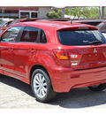 mitsubishi outlander sport 2011 dk  red se gasoline 4 cylinders all whee drive automatic 76903