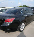 honda accord 2008 black sedan ex l gasoline 6 cylinders front wheel drive automatic 46219