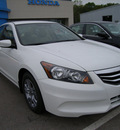 honda accord 2012 white sedan gasoline 4 cylinders front wheel drive automatic 46219