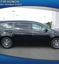 honda odyssey 2011 silver van gasoline 6 cylinders front wheel drive automatic 46219