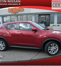 nissan juke 2011 red wagon gasoline 4 cylinders front wheel drive 6 speed manual 46219