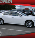 nissan maxima 2012 white sedan gasoline not specified front wheel drive automatic 46219