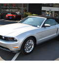 ford mustang 2012 silver premium gasoline 8 cylinders rear wheel drive automatic 98032