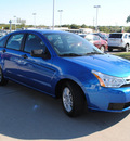 ford focus 2011 blue flame sedan se gasoline 4 cylinders front wheel drive automatic 76205