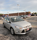 ford focus 2012 silver hatchback se gasoline 4 cylinders front wheel drive automatic with overdrive 60546
