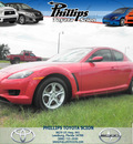 mazda rx 8 2006 red coupe automatic gasoline rotary rear wheel drive automatic 34788