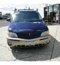 pontiac montana 2004 blue black van montanavision gasoline 6 cylinders front wheel drive 4 speed automatic 07724