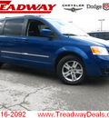 dodge grand caravan 2010 blue van sxt gasoline 6 cylinders front wheel drive automatic 45840