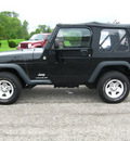 jeep wrangler 2006 black suv se gasoline 4 cylinders 4 wheel drive 6 speed manual 45840