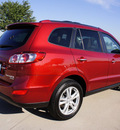 hyundai santa fe 2010 dk  red suv limited gasoline 6 cylinders front wheel drive automatic 76018