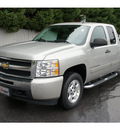 chevrolet silverado 1500 2009 silver pickup truck lt gasoline 8 cylinders 2 wheel drive not specified 28677