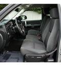 chevrolet silverado 1500 2009 silver pickup truck lt gasoline 8 cylinders 2 wheel drive not specified 28677