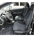 honda fit 2009 black hatchback sport gasoline 4 cylinders front wheel drive not specified 28677