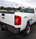 chevrolet silverado 2500hd 2011 white work truck gasoline 8 cylinders 4 wheel drive automatic 60007