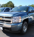 chevrolet silverado 1500 2011 blue pickup truck ls flex fuel 8 cylinders 2 wheel drive automatic 27591