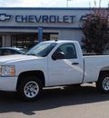 chevrolet silverado 1500 2010 white work truck gasoline 6 cylinders 2 wheel drive automatic 27591