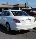 honda accord 2009 white sedan ex l v6 w navi gasoline 6 cylinders front wheel drive automatic 27591