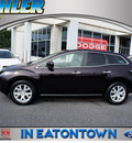 mazda cx 7 2008 black cherry suv touring nav gasoline 4 cylinders automatic 07724
