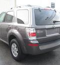 mercury mariner 2009 gray suv v6 gasoline 6 cylinders 2 wheel drive automatic 45840