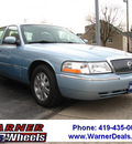 mercury grand marquis 2005 lt  blue sedan ls premium gasoline 8 cylinders rear wheel drive automatic with overdrive 45840