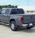 chevrolet colorado 2008 gray lt z71 gasoline 5 cylinders 4 wheel drive automatic 62708