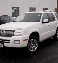 mercury mountaineer 2006 white suv premier gasoline 8 cylinders rear wheel drive automatic 61832