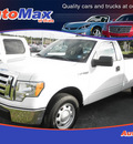 ford f 150 2010 white xl gasoline 8 cylinders 2 wheel drive automatic 34474