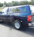 chevrolet silverado 1500 2009 dk  blue work truck gasoline 6 cylinders 2 wheel drive 4 speed automatic 55391