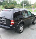 ford explorer 2008 black suv xlt 4x4 gasoline 6 cylinders 4 wheel drive automatic 07054