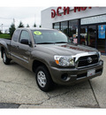 toyota tacoma 2011 dk  green gasoline 4 cylinders 2 wheel drive automatic 07724