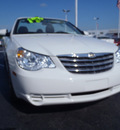 chrysler sebring 2010 white touring flex fuel 6 cylinders front wheel drive automatic 33021
