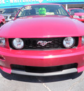 ford mustang 2007 dk  red coupe gt premium gasoline 8 cylinders rear wheel drive 5 speed manual 32401