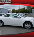 nissan altima 2012 white coupe gasoline 4 cylinders front wheel drive automatic 46219