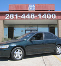 honda accord 1999 green sedan ex gasoline 4 cylinders front wheel drive automatic 77037