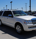 lincoln navigator l 2007 white suv gasoline 8 cylinders rear wheel drive automatic with overdrive 76087