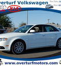 audi a4 2008 white sedan quattro 2 0t gasoline 4 cylinders all whee drive automatic 99336