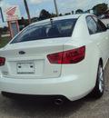 kia forte 2012 snow white sedan sx 4 cylinders front wheel drive automatic 32901