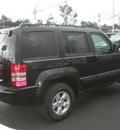 jeep liberty 2009 black suv sport gasoline 6 cylinders 4 wheel drive automatic 13502