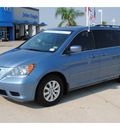honda odyssey 2009 blue van ex l gasoline 6 cylinders front wheel drive automatic with overdrive 77065