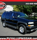 chevrolet tahoe 2003 black suv z71 flex fuel 8 cylinders 4 wheel drive automatic 98371